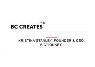 BC Creates Hosts Kristina Stanley
