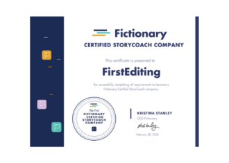 The FIRST Fictionary Certified StoryCoach Company