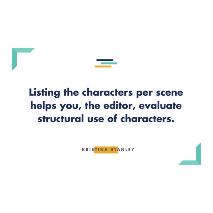 Characters per Scene