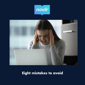 How to avoid 8 mistakes to write the perfect novel opening