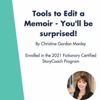Tools to Edit a Memoir – You'll be surprised